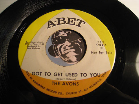Avons - Got To Get Used To You b/w Talk To Me - A-Bet #9419 - Northern Soul