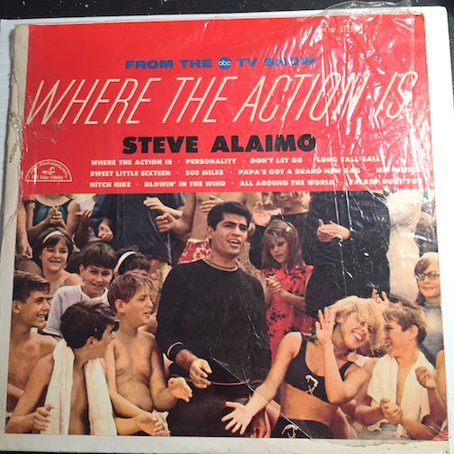 Steve Alaimo - From The TV Show - Where The Action Is b/w Sweet Little Sixteen - 500 Miles b/w Papa's Got A Brand New Bag - Personality - Blowin In The Wind - ABC #531 - Northern Soul