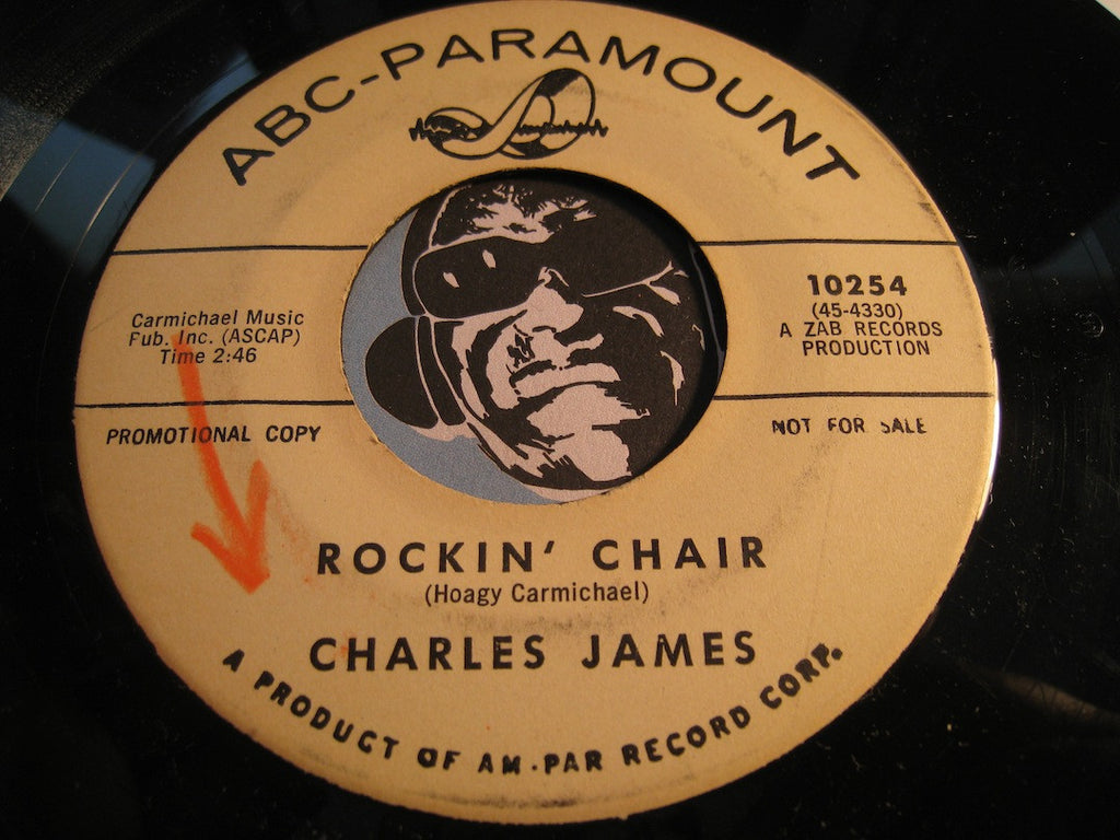 Charles James - Thief In The Night b/w Rockin Chair - ABC Paramount #10245 - R&B Blues
