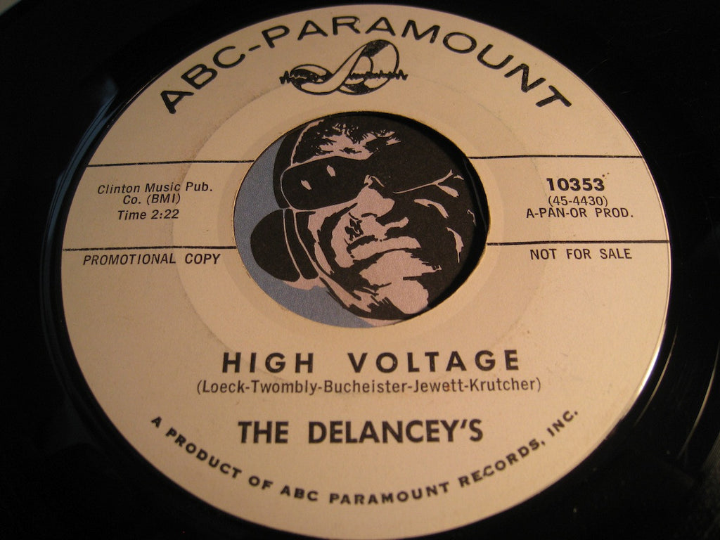 Delancey's - High Voltage b/w The Scratch - ABC Paramount #10353 - Rock n Roll