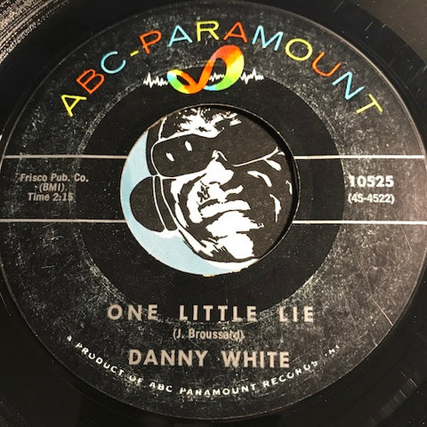 Danny White - One Little Lie b/w Loan Me A Handkerchief - ABC Paramount #10525 - Northern Soul