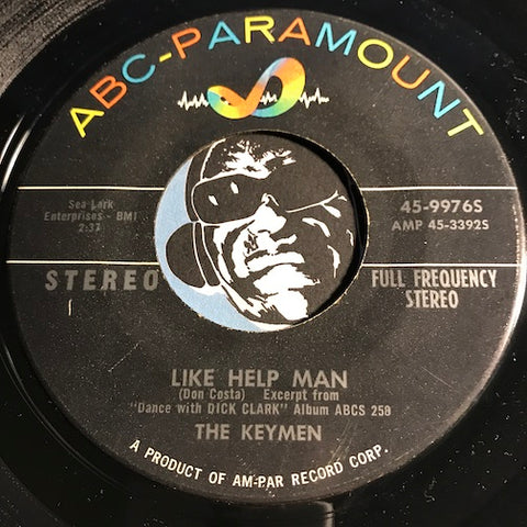 Keymen - Like Help Man b/w Sentimental Journey - ABC Paramount #99765 - Rock n Roll