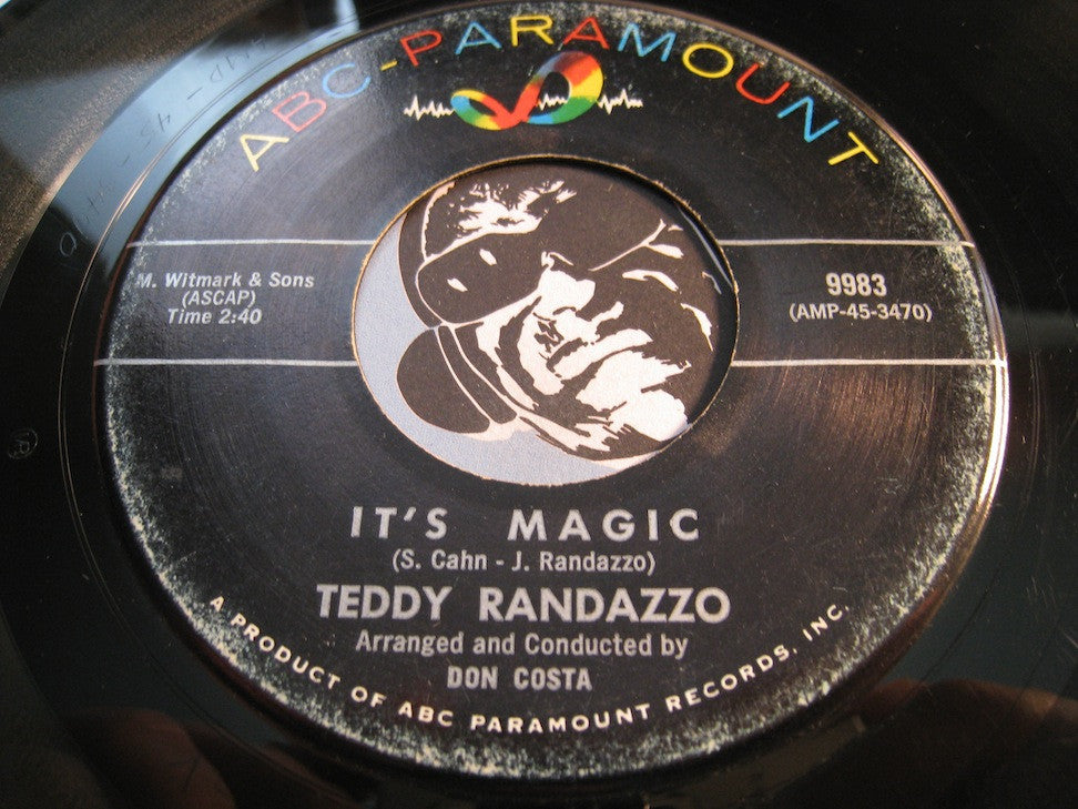 Teddy Randazzo - It's Magic b/w Richer Than I - ABC Paramount #9983 - Popcorn Soul