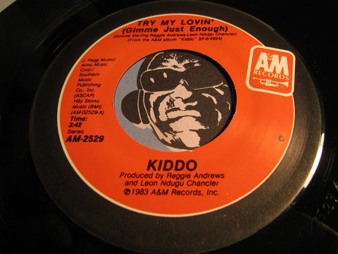 Kiddo - Try My Loving (Gimme Just Enough) b/w Strangers - A&M #2529 - Funk Disco