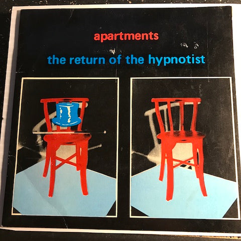 Apartments - The Return Of The Hypnotist EP - Help b/w Nobody Like You - Refugee - Able Label no # - Punk