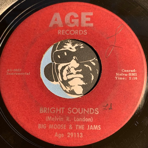 Big Moose & Jams - Off The Hook b/w Bright Sounds - Age #29113 - R&B Mod