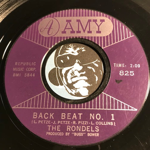 Rondels - Back Beat No 1 b/w Shades Of Green - Amy #825 - Rock n Roll - Surf