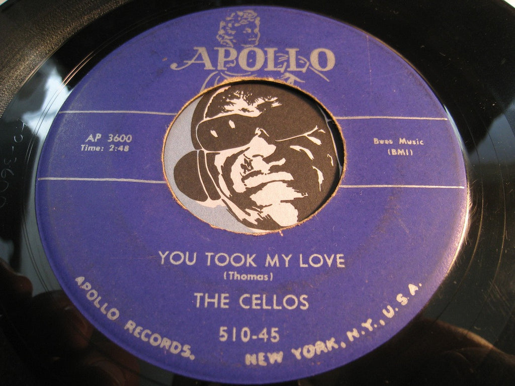 Cellos - You Took My Love b/w Rang Tang Ding Dong - Apollo #510 - Doowop