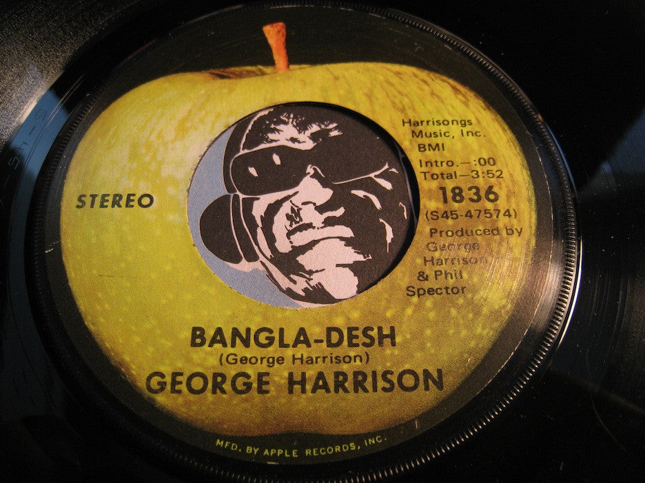 George Harrison - Bangla-desh b/w Deep Blue - Apple #1836 - Rock n Roll