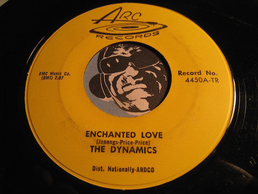 Dynamics - Enchanted Love b/w Happiness and Love - Arc #4450 - Doowop