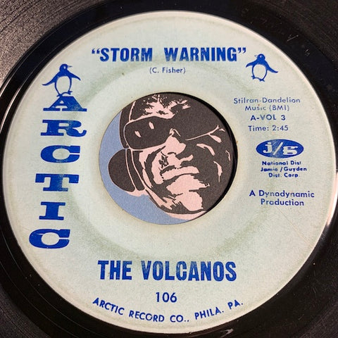 Volcanos - Storm Warning b/w Baby - Arctic #106 - Northern Soul - Sweet Soul