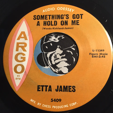 Etta James - Something's Got A Hold On Me b/w Waiting For Charlie To Come Home - Argo #5409 - R&B Soul