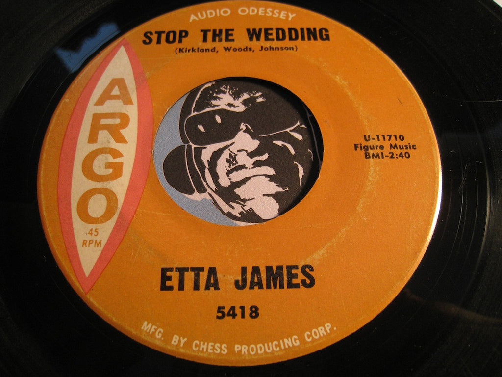Etta James - Stop The Wedding b/w Street Of Tears - Argo #5418 - R&B Soul