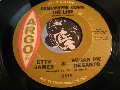 Etta James & Sugar Pie Desanto