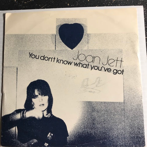 Joan Jett - You Don't Know What You've Got b/w Don't Abuse Me - Arial #235 - Punk / Powerpop