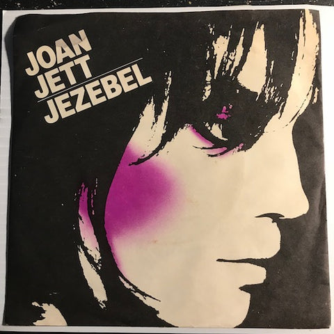 Joan Jett - Jezebel b/w Bad Reputation - Ariola #242 - Rock n Roll - 80's