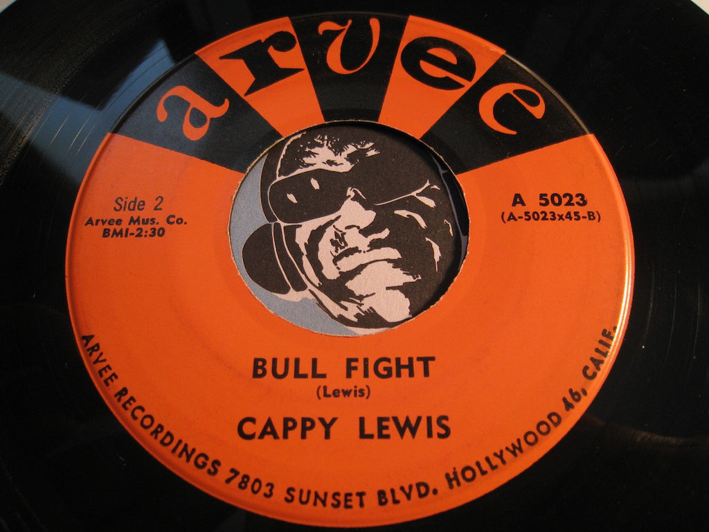 Olympics / Cappy Lewis - Little Pedro (by Olympics) b/w Bull Fight (by Cappy Lewis) - Arvee #5023 - R&B