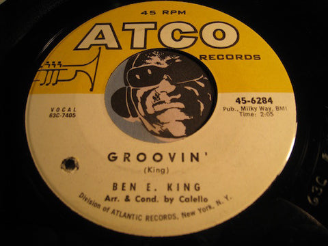 Ben E. King - Groovin b/w What Now My Love - Atco #6284 - R&B Soul