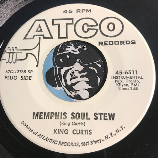 King Curtis - Memphis Soul Stew b/w Blue Nocturne - Atco #6511 - Funk