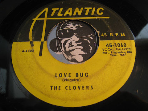 Clovers - Love Bug b/w In The Morning Time - Atlantic #1060 - Doowop
