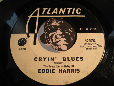 Eddie Harris - Cryin Blues b/w Love Theme From The Sandpiper - Atlantic #5052 - Jazz Mod