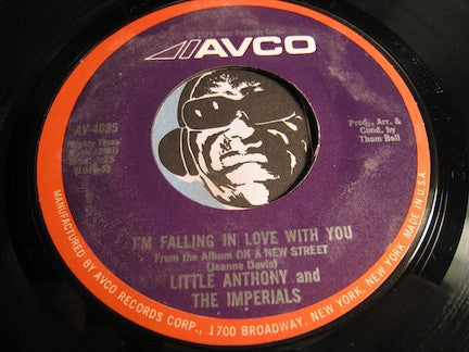 Little Anthony & Imperials - I'm Falling In Love With You b/w What Good Am I Without You - Avco #4635 - Soul