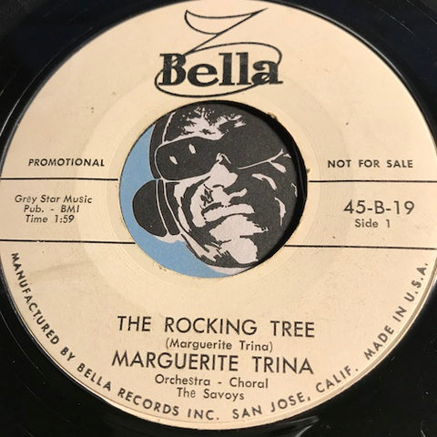 Marguerite Trina - The Rocking Tree b/w The Brat - Bella #19 - Rockabilly - Christmas / Holiday