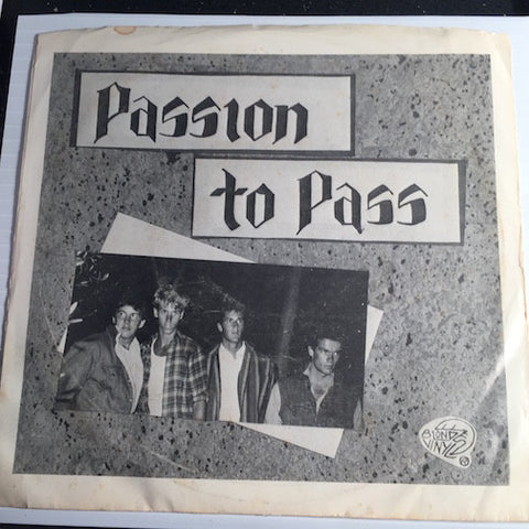 Passion To Pass - Dirty Tricks b/w I Ask You Ask - Blond Vinyl #001 - Punk