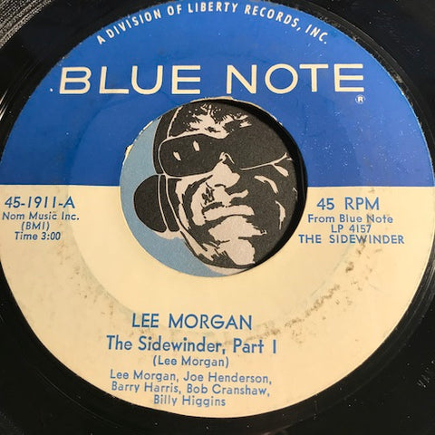 Lee Morgan - The Sidewinder part 1 b/w part 2 - Blue Note #1911 - Jazz Funk - Jazz