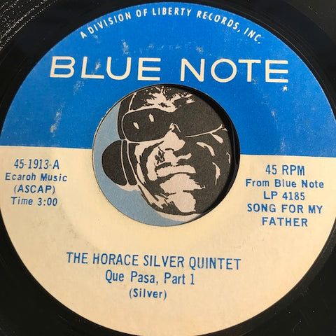 Horace Silver Quintet - Que Pasa part 1 b/w part 2 - Blue Note #1913 - Latin Jazz - Jazz