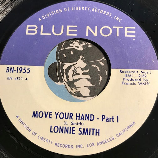 Lonnie Smith - Move Your Hand pt.1 b/w pt.2 - Blue Note #1955 - Jazz Funk