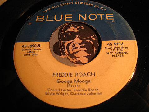 Freddie Roach - Googa Mooga b/w I Know - Blue Note #1890 - Jazz Mod