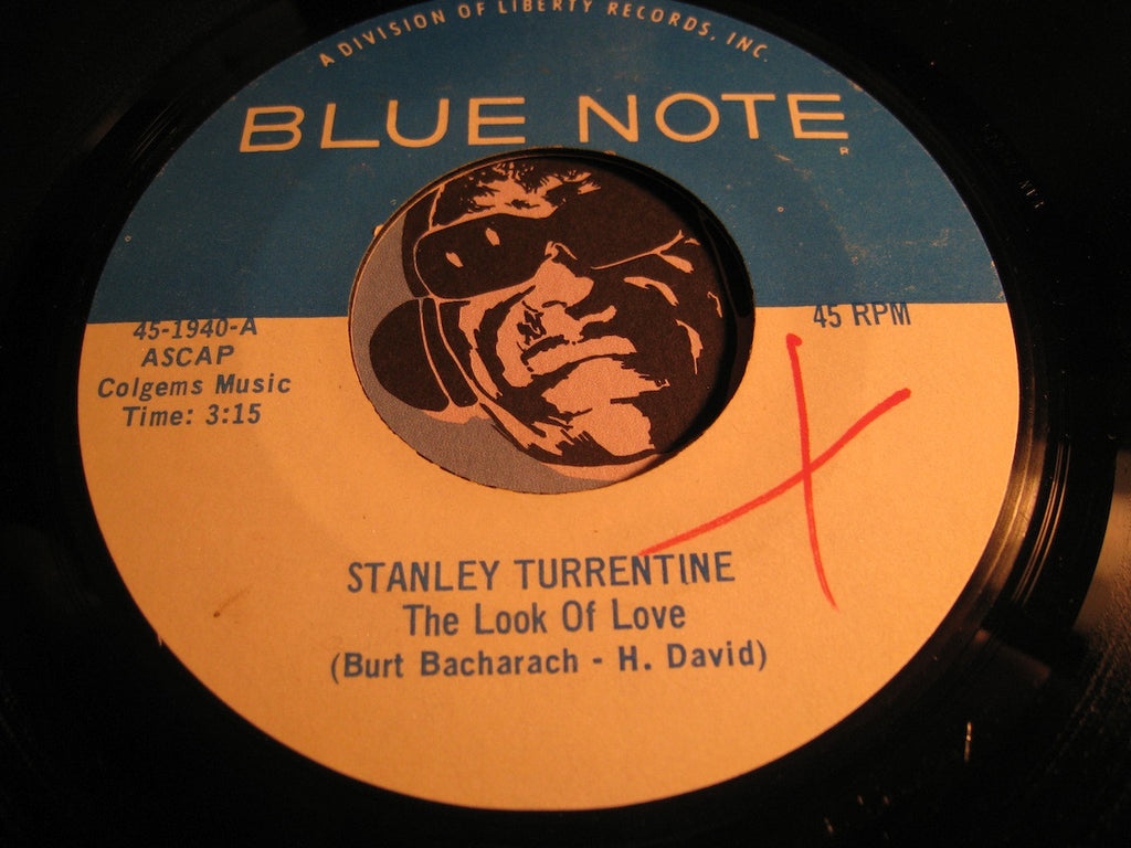 Stanley Turrentine - The Look Of Love b/w This Guy's In Love With You - Blue Note #1940 - Jazz