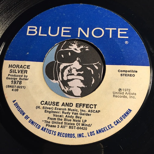 Horace Silver - Cause And Effect b/w Horn Of Life - Blue Note #9221 - Jazz - Jazz Funk