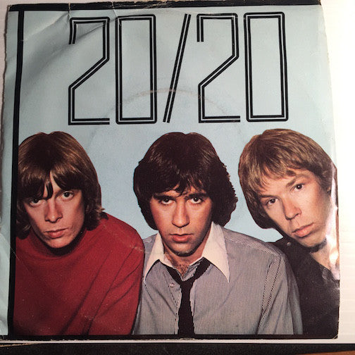 20/20 - Under The Freeway b/w Giving It All - Bomp #115 - Punk
