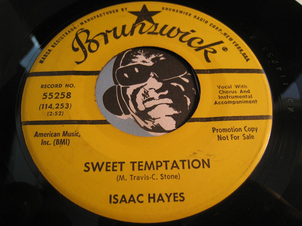 Isaac Hayes - Sweet Temptation b/w Laura (We're On Your Last Go Round) - Northern Soul