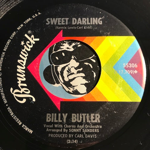 Billy Butler - Sweet Darling b/w Help Yourself - Brunswick #55306 - Northern Soul