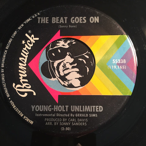 Young Holt Unlimited - The Beat Goes On b/w Doin The Thing - Brunswick #55338 - Jazz Mod