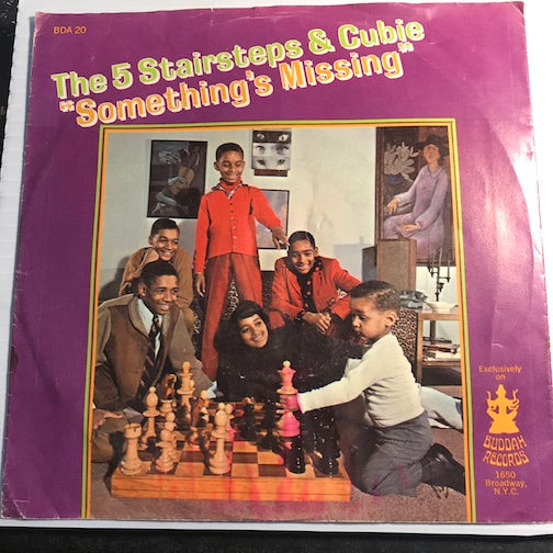 Five Stairsteps & Cubie - Something's Missing b/w Tell Me Who - Buddah #20 - Sweet Soul