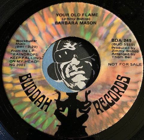 Barbara Mason - Your Old Flame b/w Pow Pow Song (Sorry Sorry Baby) - Buddah #249 - Sweet Soul