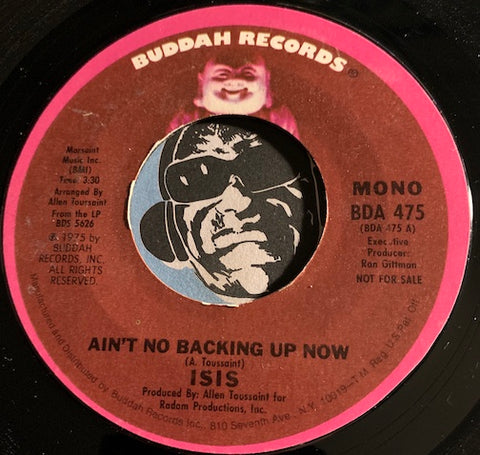 isis - Ain't No Backing Up Now b/w same - Buddah #475 - Funk