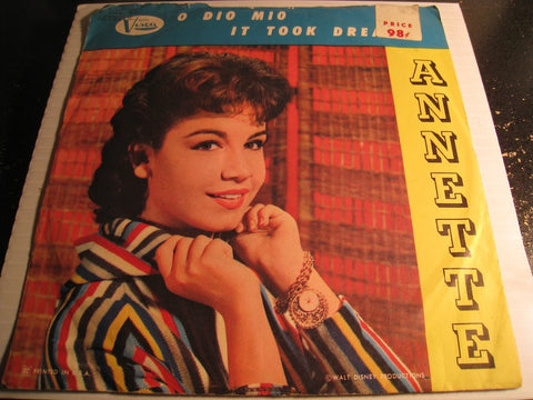Annette & Afterbeats - O Dio Mio b/w It Took Dreams - Buena Vista #354 - Teen