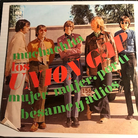 Union Gap - Muchachita EP - Woman Woman ( Mujer Mujer) - Over You (Por Ti) b/w Young Girl (Muchachita) - Kiss Me Goodbye (Besame Y Di Adios) - CBS #1474 - Rock n Roll