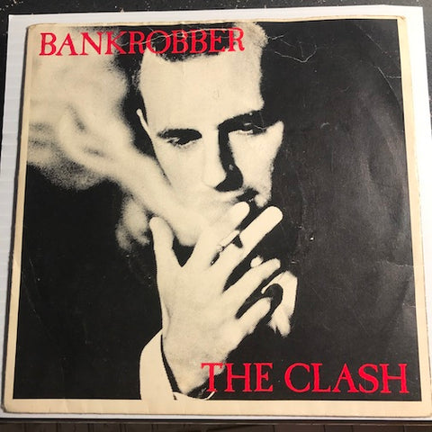 The Clash - Bankrobber b/w Rockers Galore UK Tour - CBS #8323 - 80's - Rock n Roll - Reggae
