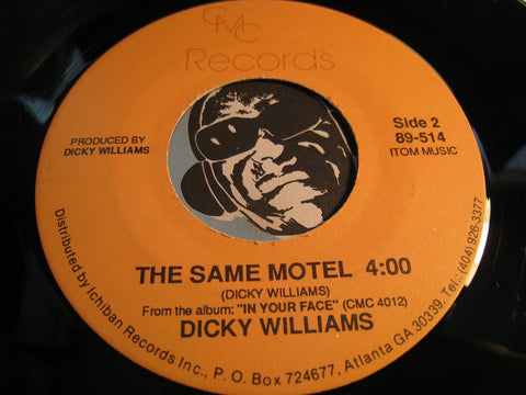 Dicky Williams - Come Back Pussy b/w The Same Motel - CMC #89-514 - Blues