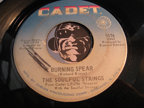 Soulful Strings - Burning Spear b/w Within You Without You - Cadet #5576 - Funk