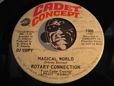 Rotary Connection - Magical World b/w Aladdin - Cadet Concept #7008 - Psych Rock - Soul