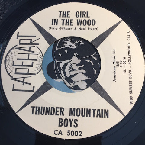 Thunder Mountain Boys - The Girl In The Wood b/w Olita - Capehart #5002 - Country