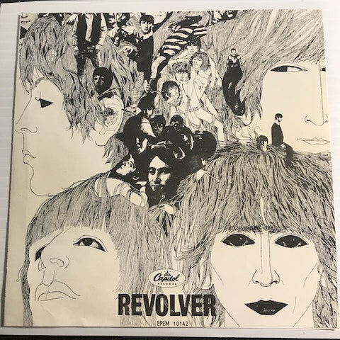 Beatles - Revolver Mexican EP - Yellow Submarine - Eleanor Rigby b/w Got To Get You Into My Life - Here There And Everywhere - Capitol #10142 - Rock n Roll