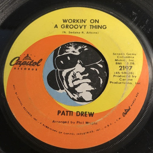 Patti Drew - Workin On A Groovy Thing b/w Without A Doubt - Capitol #2197 - Modern Soul